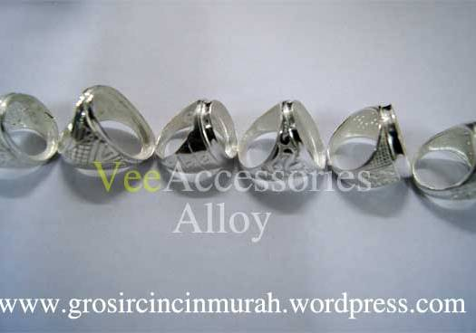 Cincin Alloy / Alpaka