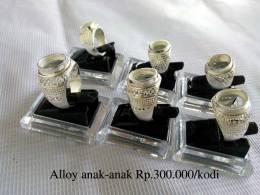 Ring Cincin Alloy / Alpaka Anaka