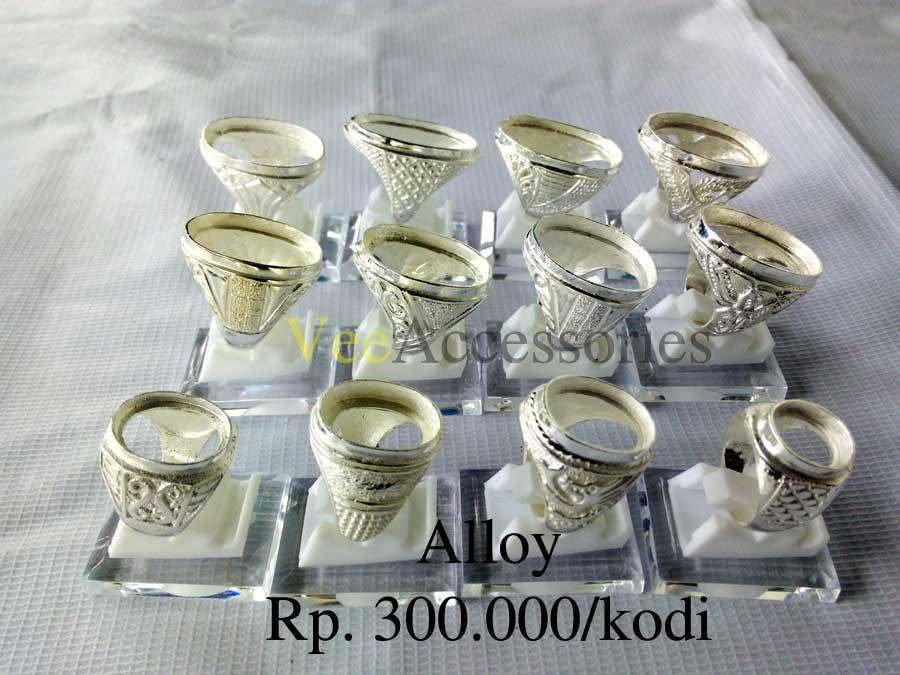 Ring Cincin Alloy Alpaka