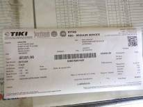 Resi pengiriman ke Aceh