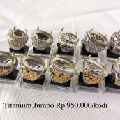 Ring Titanium Jumbo