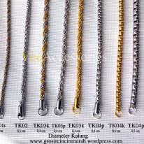 Model kalung titanium