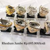 Ring Rhodium jumbo