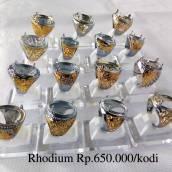 Cincin Rhodium Grade A