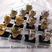 Ring Titanium Kombinasi