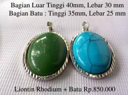 Liontin Rhodium
