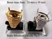 Ring Cincin Super Rhodium (habis)
