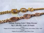 Gelang Xuping Gold 3 Mata