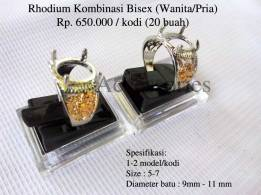Rhodium Kombinasi Bisex