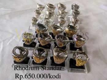 Ring cincin rhodium