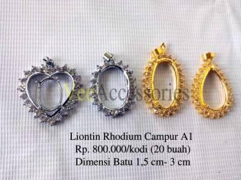 Liontin Rhodium A1