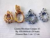 Liontin Rhodium A3