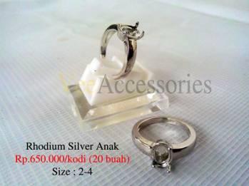 Rhodium Silver Anak
