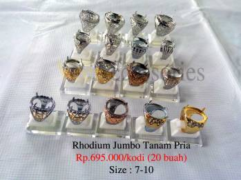 Rhodium mata standar