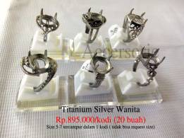 Titanium Silver Wanita