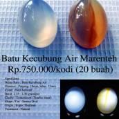 Batu Kecubung Air Marenteh Rp.750.000/kodi (20 buah)