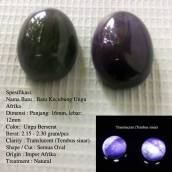 Batu Kecubung Ungu Afrika Rp.750.000/ Kodi (20 Buah)buah)