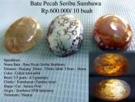 Batu Pecah Seribu Sumbawa Rp.600.000/ 10 buah