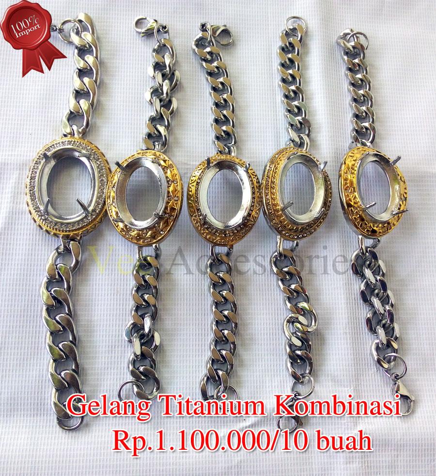 Gelang Titanium Kombinasi Rp1100000 10 Buah