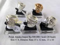 Perak Alpaka Impor Rp.500.0000/kodi