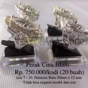 Perak Cina/Malaysia Islami Rp.750.000/kodi