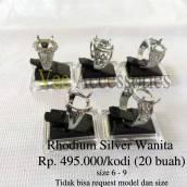 Rhodium Silver Wanita Rp.250.000/kodi