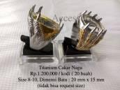 Titanium Cakar Naga Claw Dragon