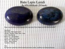 Batu Lapis Lazuli Rp.850.000/kodi (20 buah)