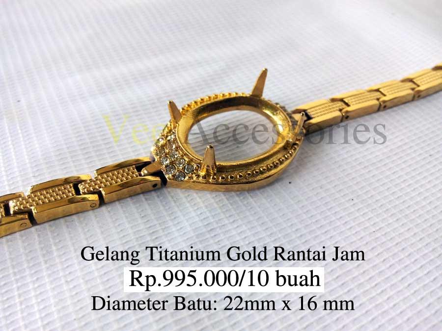 Gelang Titanium Gold Promo
