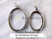 Liontin Rhodium A4 Rp.700.000/kodi