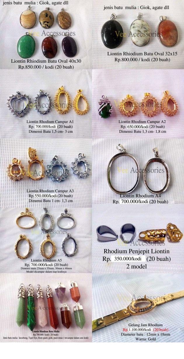 Koleksi Liontin Rhodium Promo