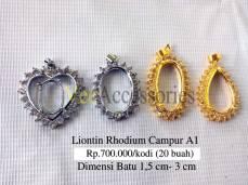 Liontin Campur Rhodium A1 Rp.700.000/kodi