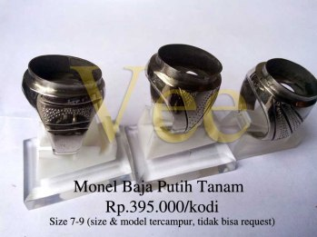 Monel Baja Putih Tanam Rp.395.000/kodi