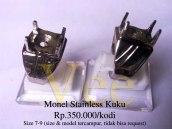 Monel Stainless Kuku Rp.350.000/kodi