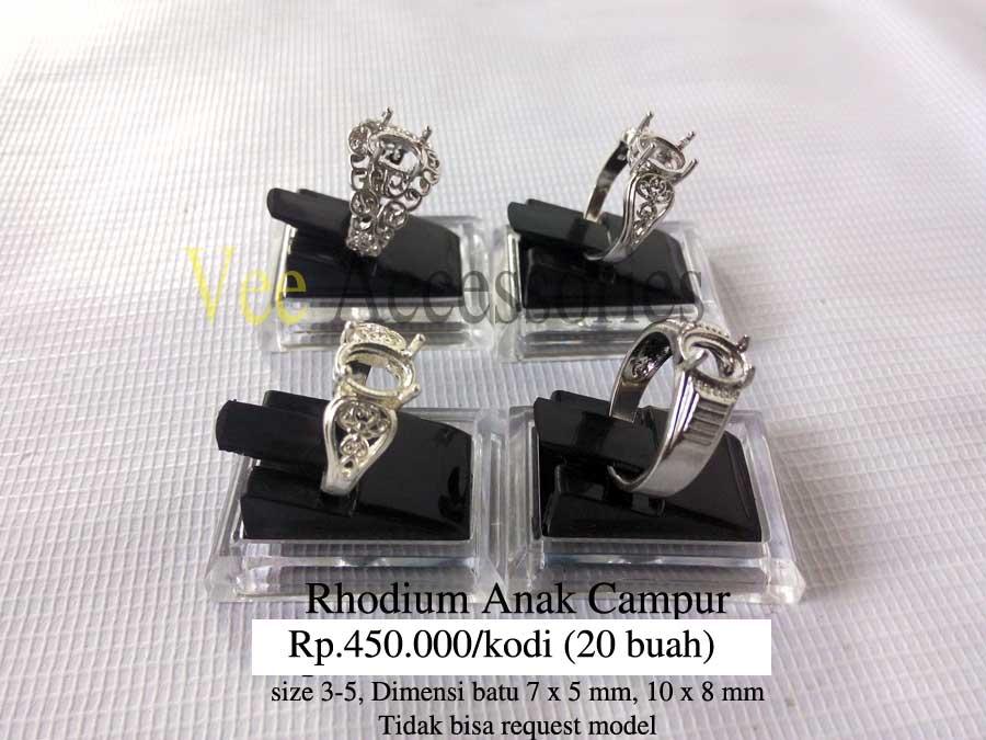 Harga Cincin Rhodium