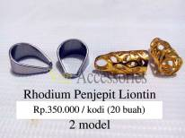 Pendulum / Penjepit Liontin - Rhodium Rp.350.000 / kodi