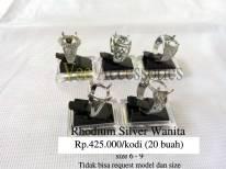 Rhodium Silver Wanita Rp.425.000/kodi