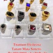 Titanium Ekslusive tanam mata sintetis Rp.950.000/kodi