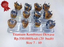 Super Titanium Kombinasi dewasa Rp.550.000/kodi