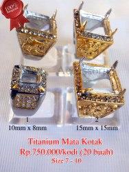 Titanium Mata Kotak Rp.750.000/kodi (20 buah)