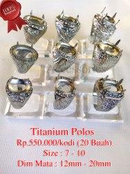 Titanium Polos Rp.550.000/kodi (20 Buah)