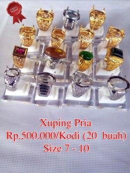 Xuping Pria Rp.500.000/kodi