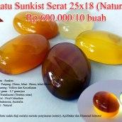 Batu Sunkist Serat 25x18 (Natural) Rp.600.000/10 buah