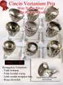 Cincin Veetanium Pria mata tanam silver Rp.475.000/ Kodi