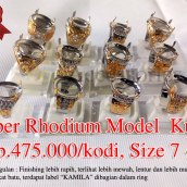 Super Rhodium model kuku Rp.475.000/kodi