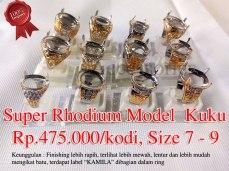 Super Rhodium model kuku Rp.475.000/kodi