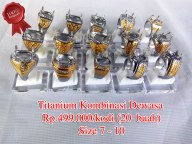 Super Titanium Kombinasi dewasa Rp.499.000/kodi
