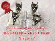 Titanium Wanita silver Rp.499.000/kodi