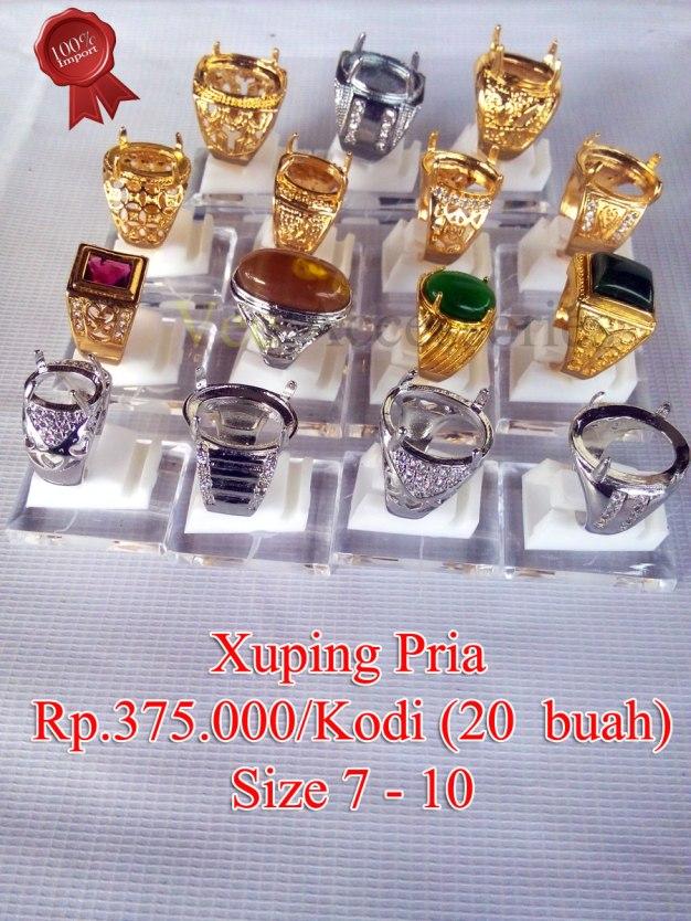 Xuping Pria Rp.375.000/kodi