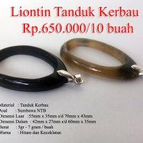 Liontin Tanduk Kerbau – L7 Rp.650.000/10 Buah